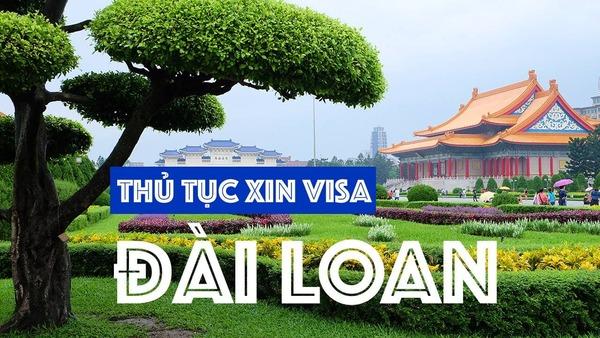 thủ tục visa đài loan