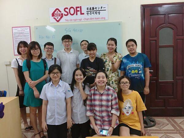 Trung tâm ngoại ngữ Sofl
